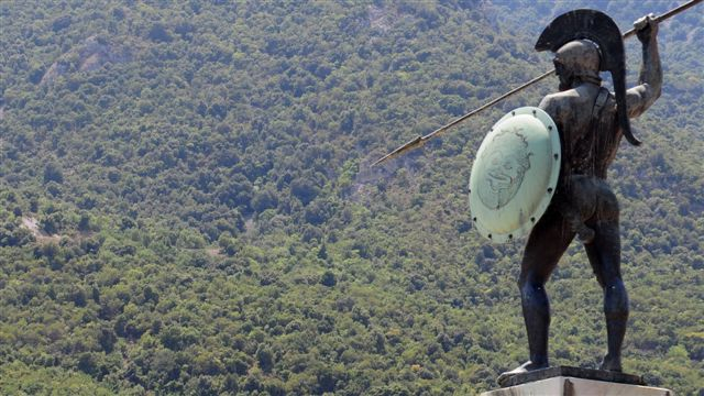 Οδοιπορικό στις Θερμοπύλες, ακολουθώντας το μονοπάτι του Εφιάλτη στο  Καλλίδρομο Όρος (pics) - Ειδήσεις και νέα της Πελοποννήσου και όλης της  Ελλάδας
