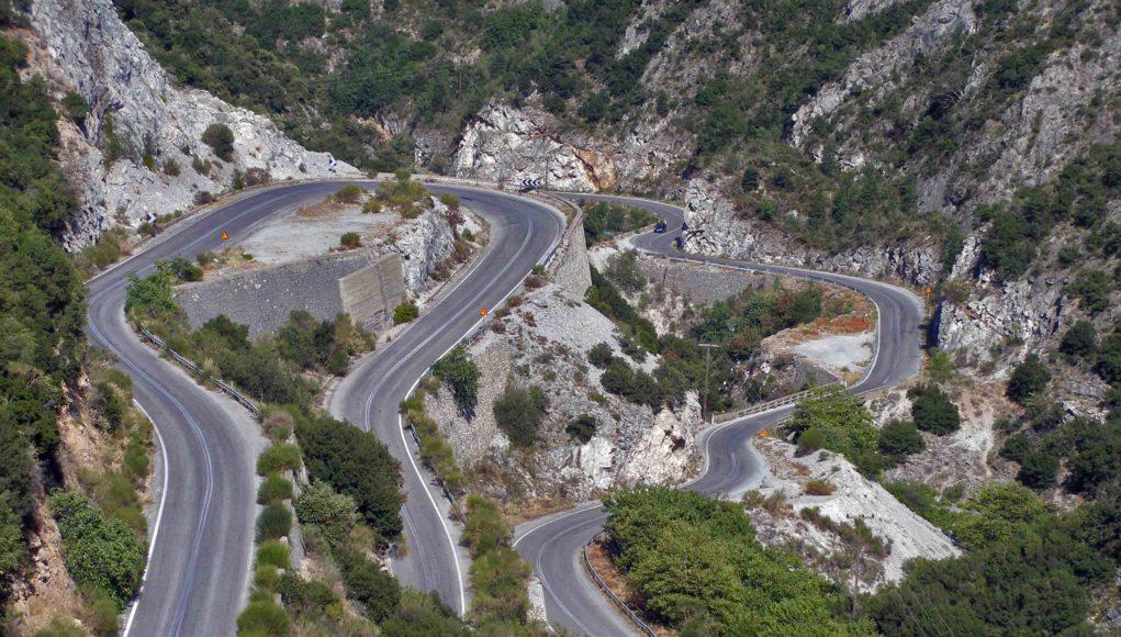 Αποτέλεσμα εικόνας για ασφάλειας του δρόμου Καλαμάτα – Σπάρτη, μέσω Ταϋγέτου,